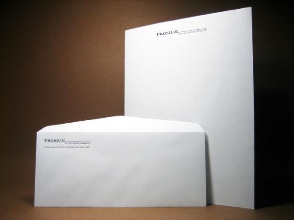Letterhead and Envelope Printing